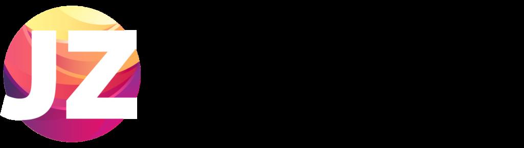 LOGO JZ MARKETING DIGITAL negro