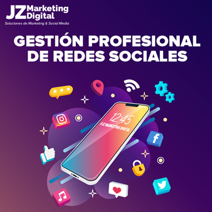 community manager gestion de redes sociales agencia de marketing digital jz marketing digital diseño web 3