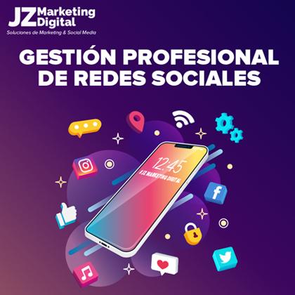 community manager gestion de redes sociales agencia de marketing digital jz marketing digital diseño web 3