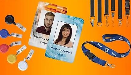 merchandising fotochecks y cintas personalizadas jz marketing digital agencia merchandising y publicidad